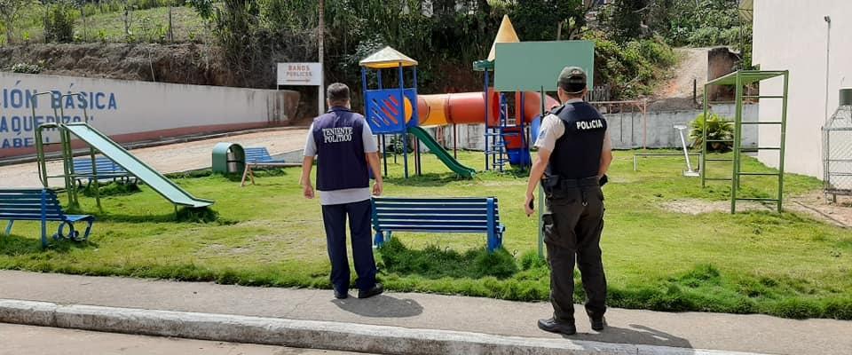 SE PROCEDIÓ A REALIZAR UN RECORRIDO DE PATRULLAJE PREVENTIVO A LA SEGURIDAD CIUDADANA